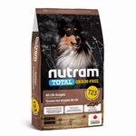 T23 Nutram Grain Free Hond Kip-Kalkoen-Eend 13,6kg