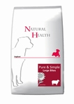 Natural Health Dog Large Bites 12,5kg