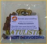 Bandit Katteknabbels (ook voor hond) stukjes wild 20 gram