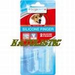 Bogadent Silicone finger voor hond (en kat), 2 stuks