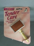 Lawrence Tender Care Cat Slicker Brush Small,borstel katten