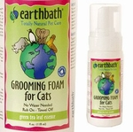 Earthbath grooming foam green tea kat 118ml