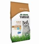 Yarrah bio kat grain free kip met vis 800gr