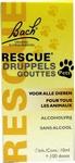 Bach Rescue druppels Pets, voor dieren (zonder alcohol) 10ml
