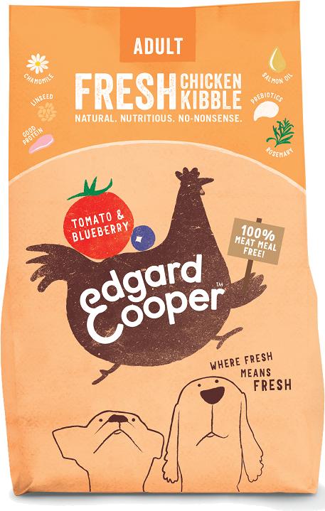 Edgard & Cooper Verse kip, tomaten & blauwe bessen 700g