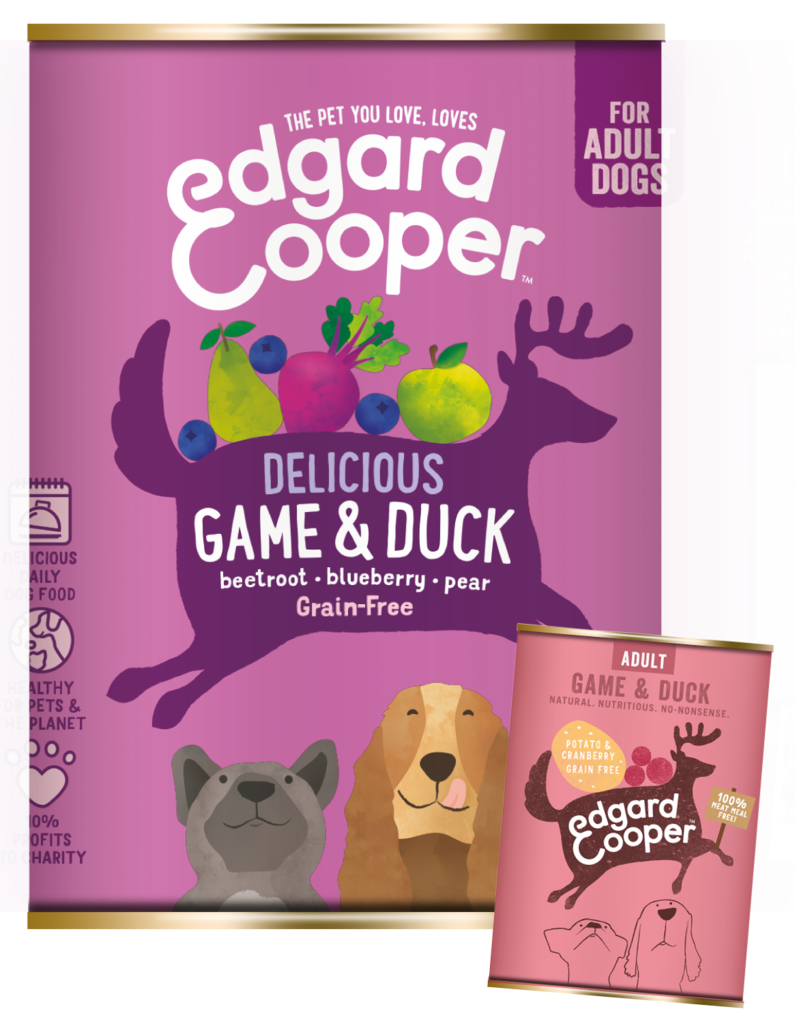Edgard & Cooper Wild&Eend 400g